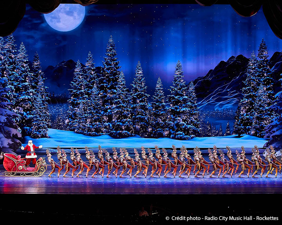 Le radio city christmas spectacular : une véritable tradition new-yorkaise