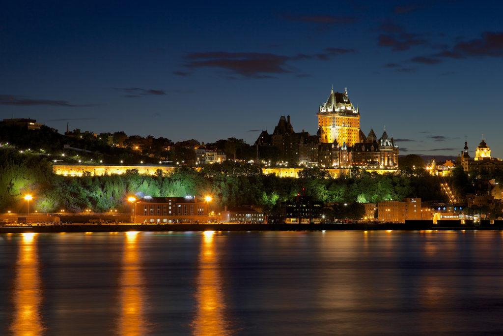Vue sur Québec depuis Lévis