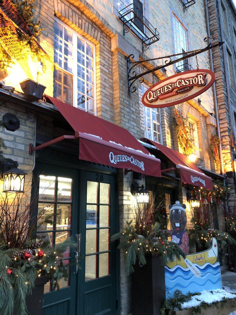 Beavertails - Queues de Castor - Vieux Québec