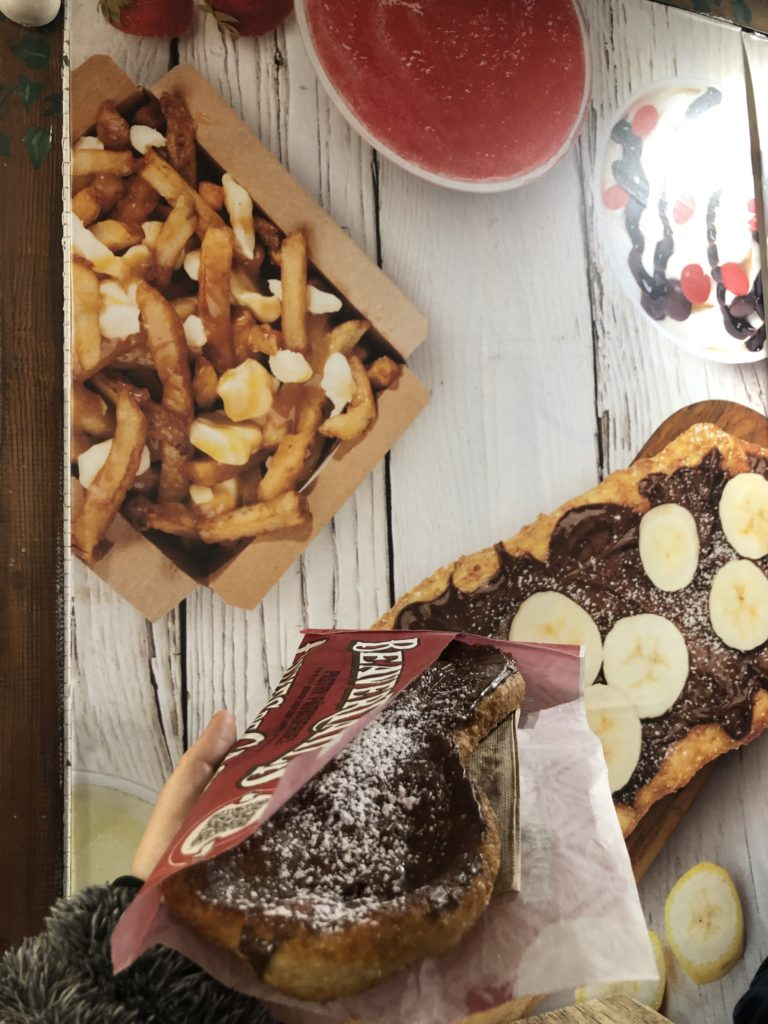 Beavertails - Queues de Castor au chocolat - Vieux Québec