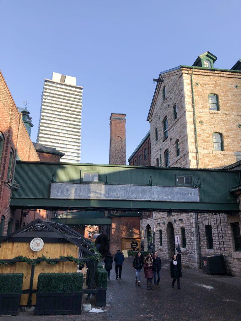 Architecture victorienne au Distillery District - Toronto