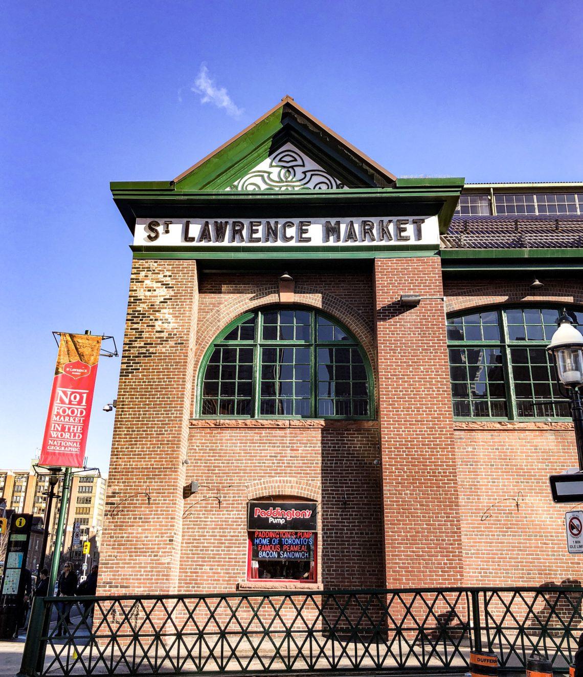 Façade St Lawrence Market à Toronto