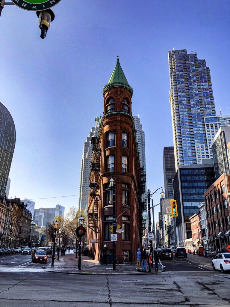 Flatiron Building ou Gooderham Building à Toronto