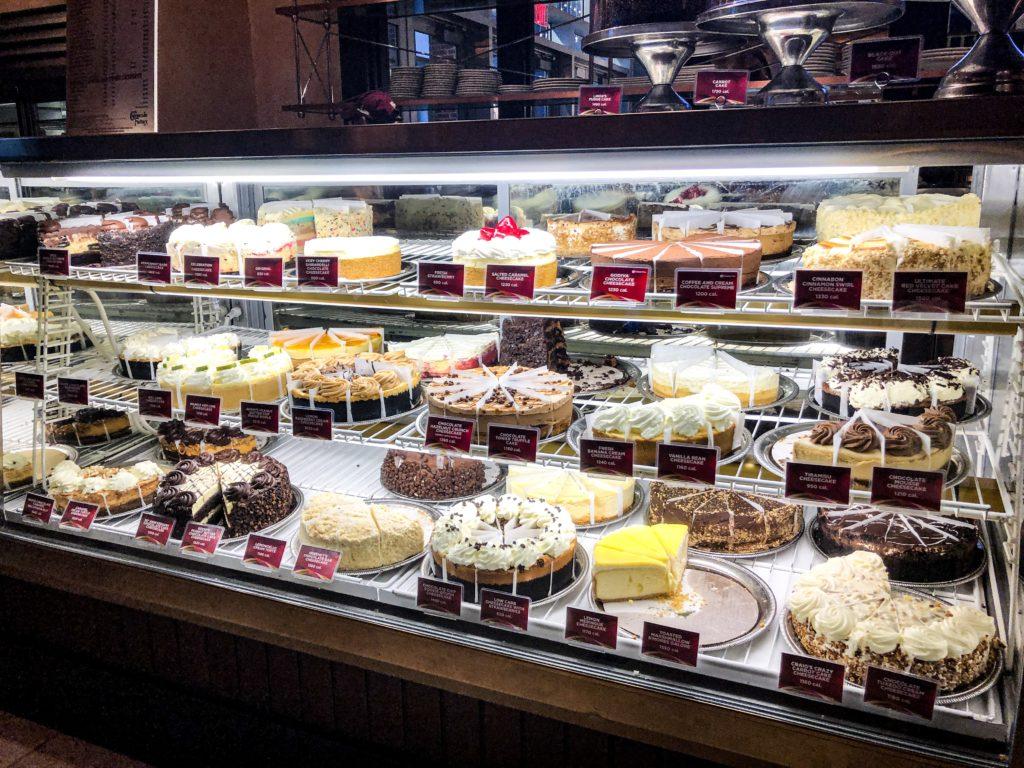 Cheesecake Factory à Buffalo proche de la frontière américaine / canadienne