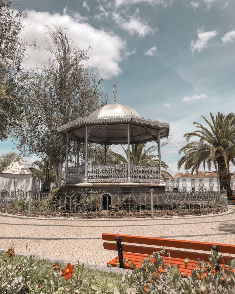 Visiter Tavira - City guide : jardim do coreto