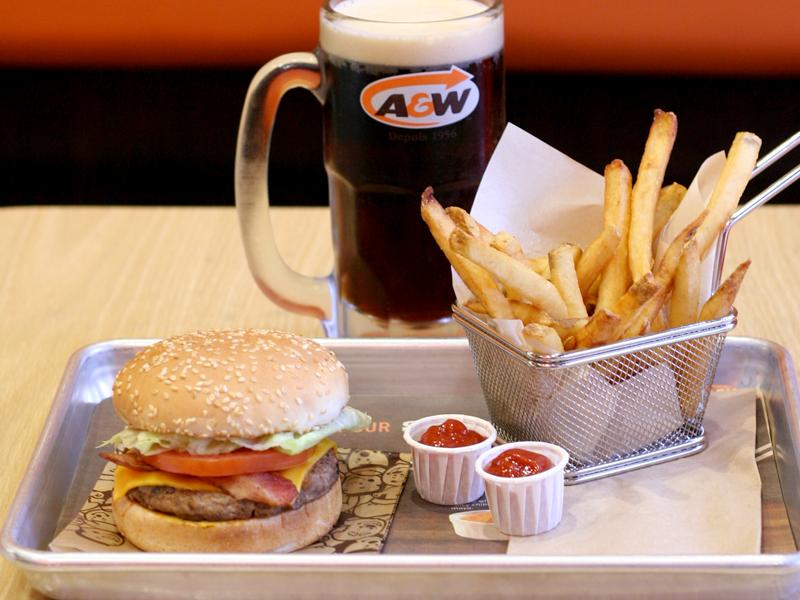 Où manger à Montréal ? - A&W