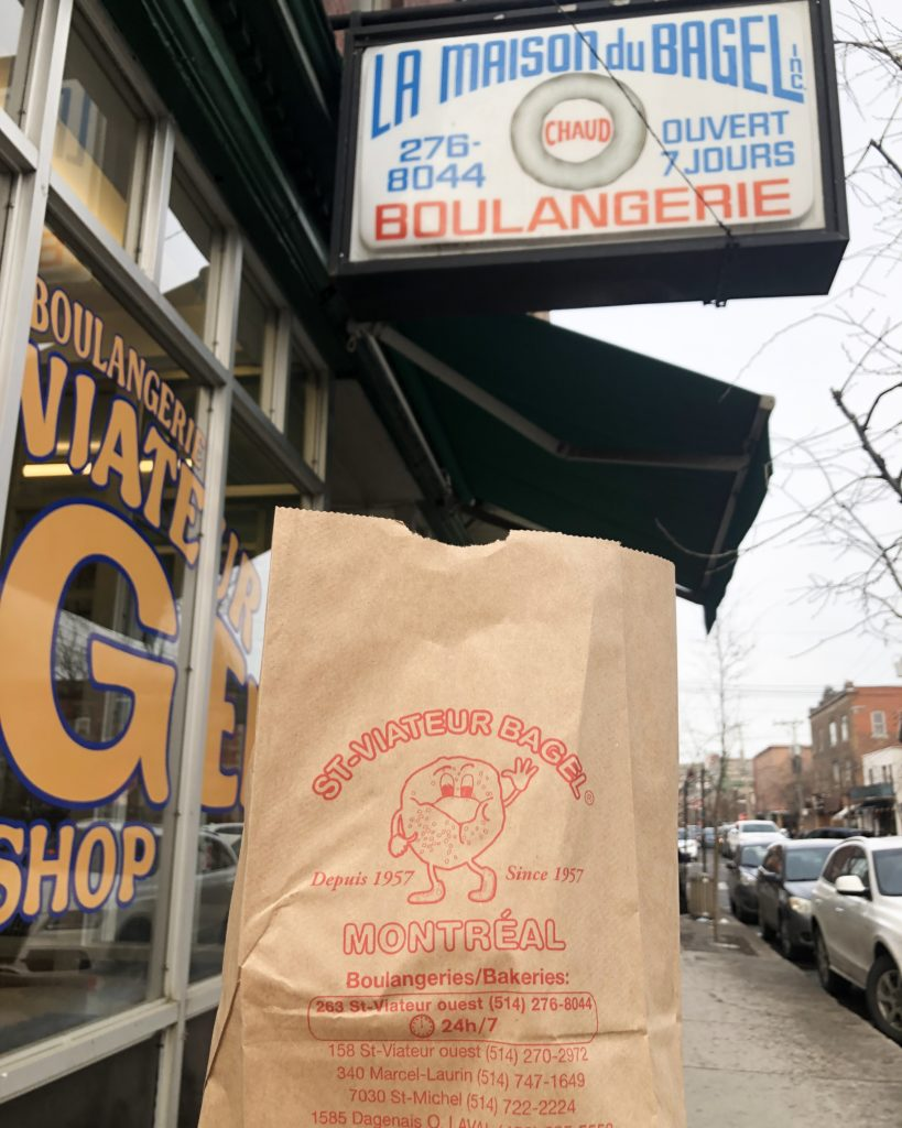 Où manger à Montréal ? - Bagel St Viateur