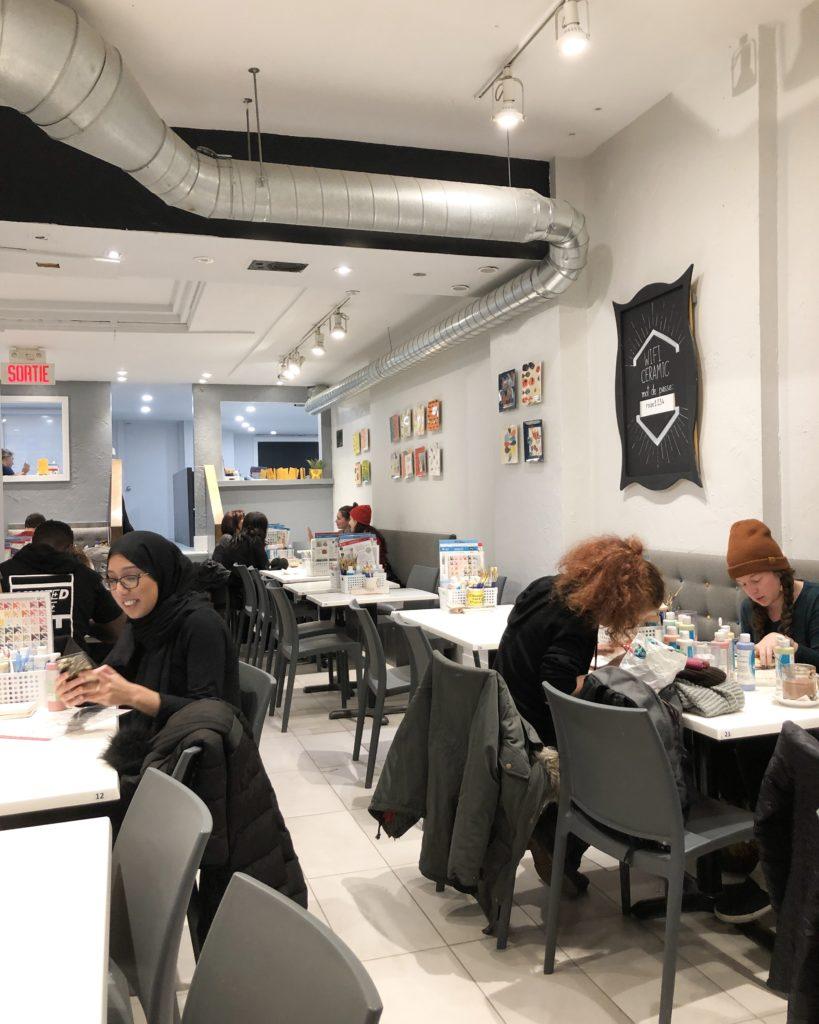 Ceramic Cafe - Montréal