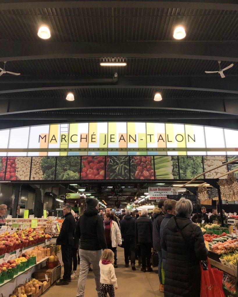 Marché Jean-Talon, Montréal