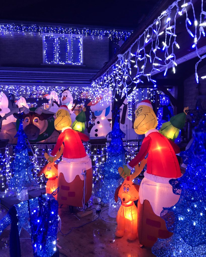 Maison de Sami Hajjar décorée pour Noël à Montréal