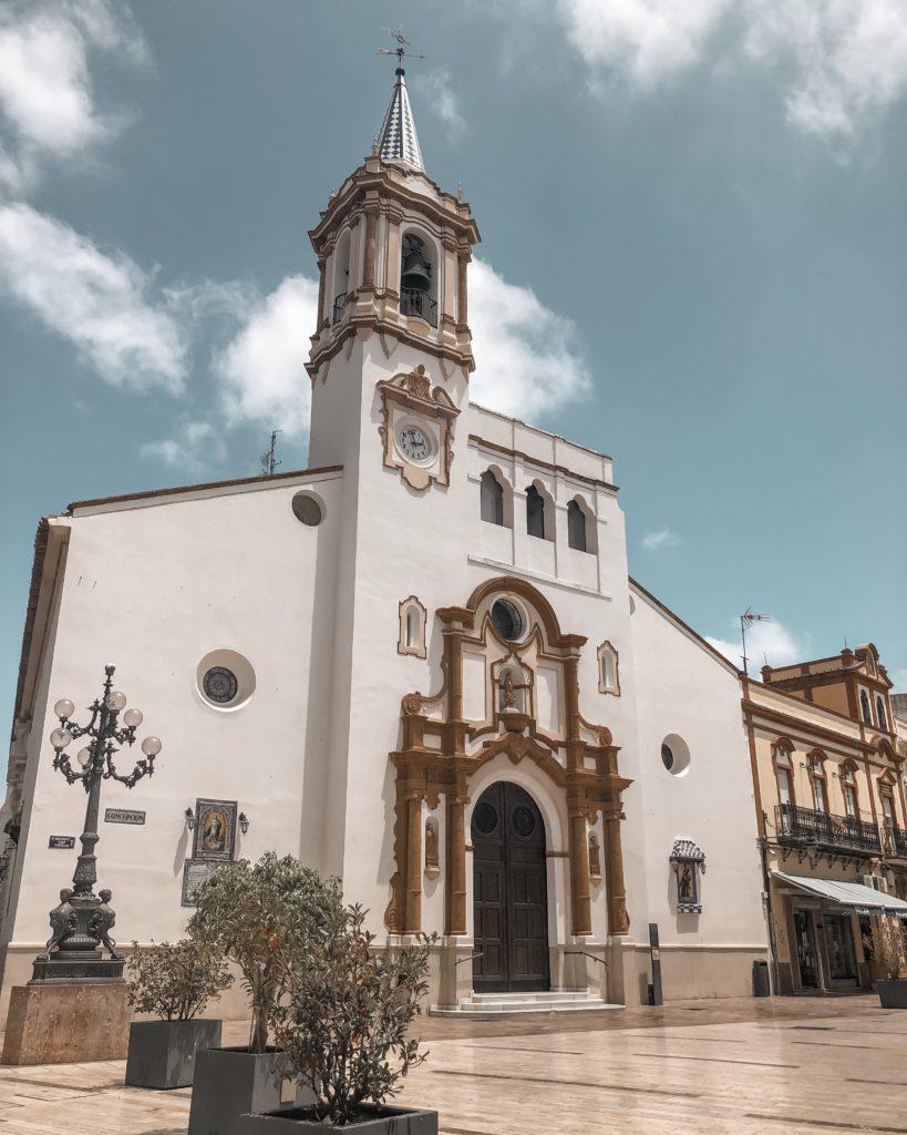 """Eglise """"Paroquia Purisima Concepcion"""" - Huelva, Espagne"""