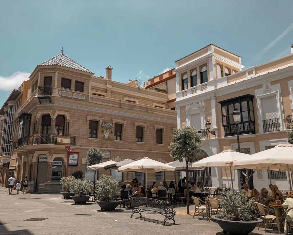 Plaza Alcalde Coto Mora - Huelva, Espagne