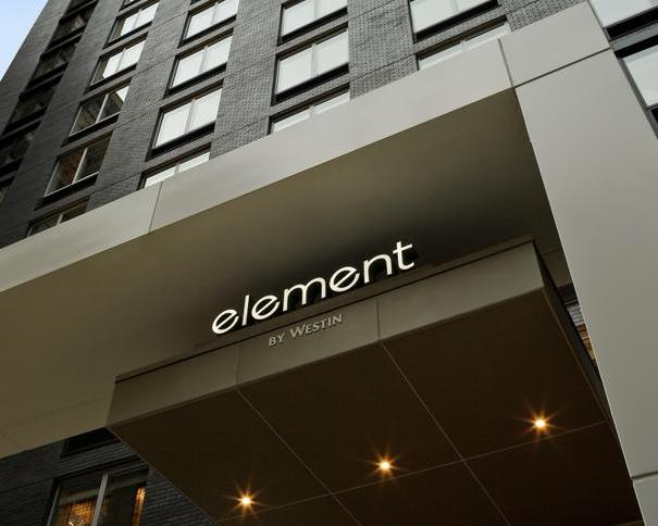 Mon avis sur l'hôtel Element Times Square West