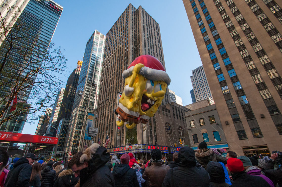 Macy's thanksgiving day parade à New-York - Just Be Curious