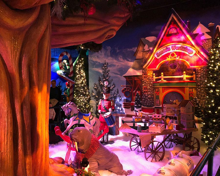 Rencontre avec le Père Noël de Macy's à New-York