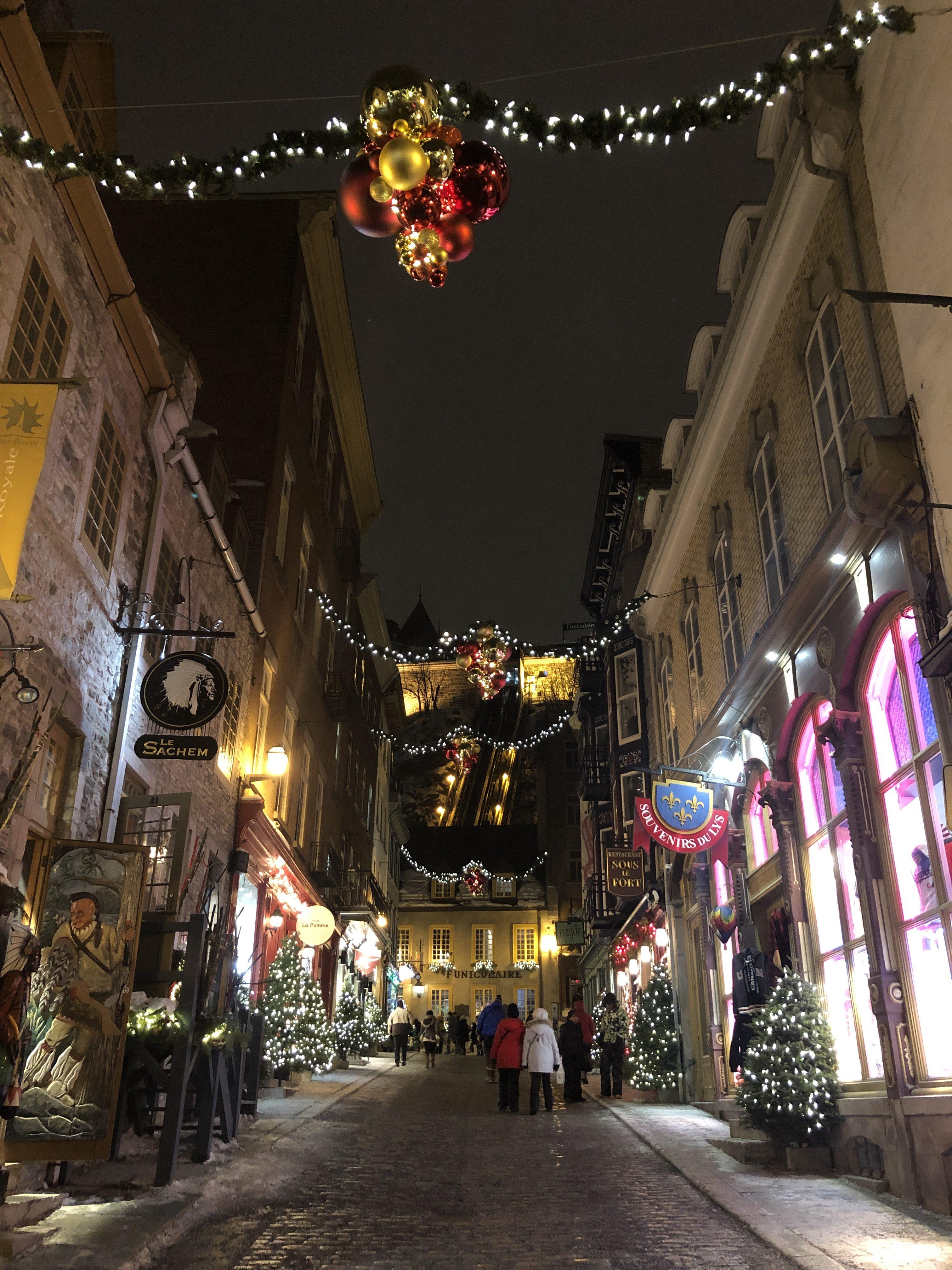 Quartier du Petit-Champlain à Québec