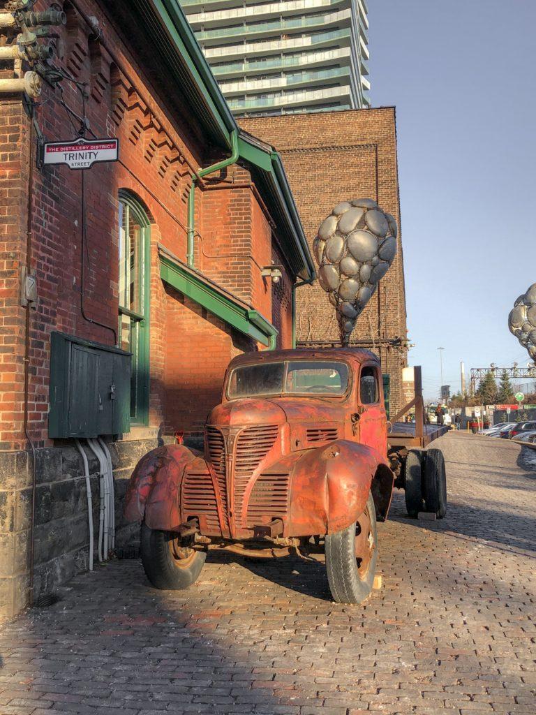 Ancien camion - Distillery District Toronto
