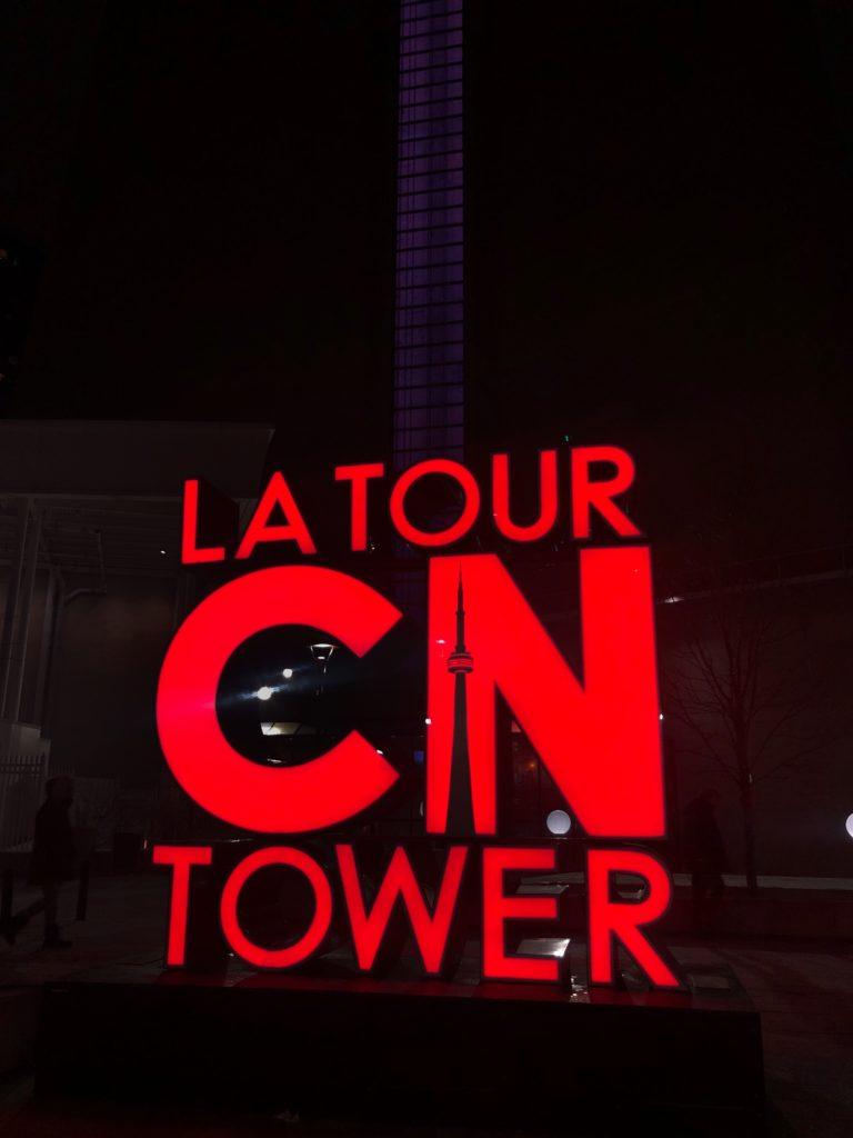 Extérieur de la CN Tower à Toronto