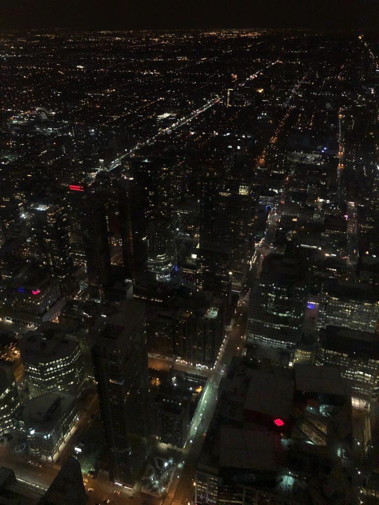 Vue depuis la CN Tower à Toronto