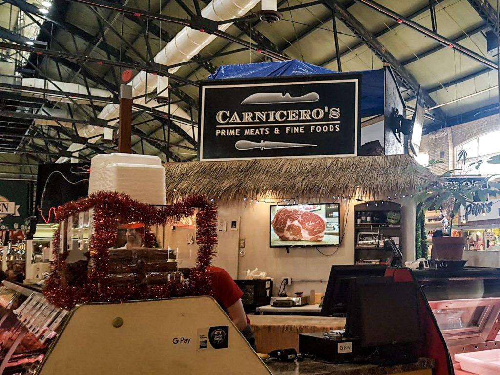Intérieur du célèbre St Lawrence Market South à Toronto