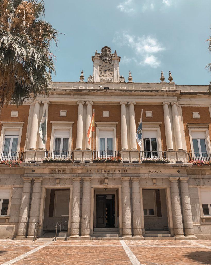 Mairie (Ayuntamiento) de Huelva, Espagne