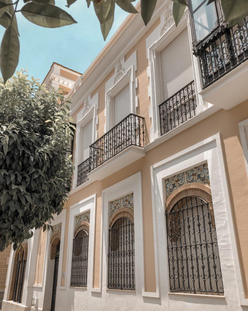 Palacio de las conchas - Huelva, Espagne