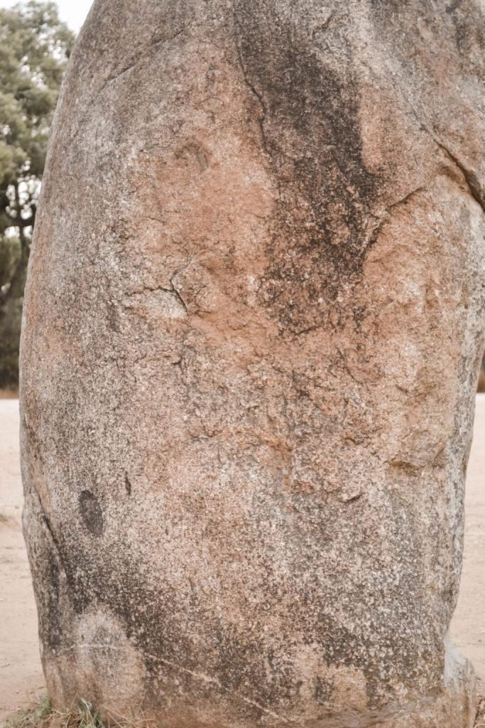 Evora et ses alentours : le cromlech des Almendres et ses menhirs