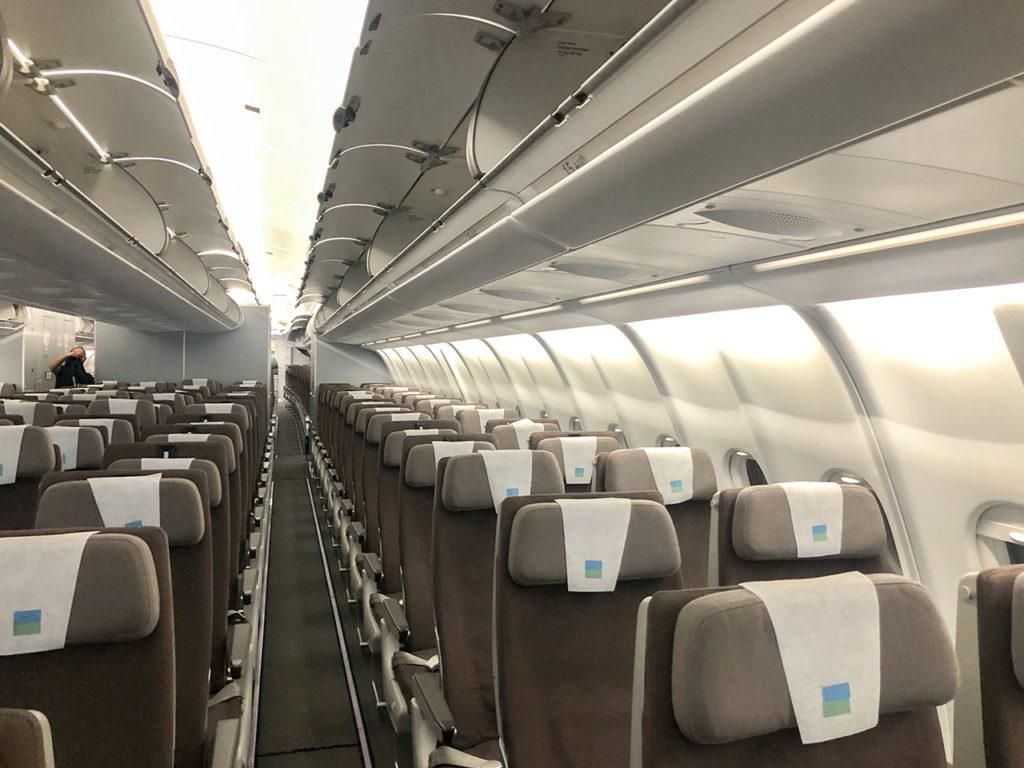 Configuration avion Level 2-4-2